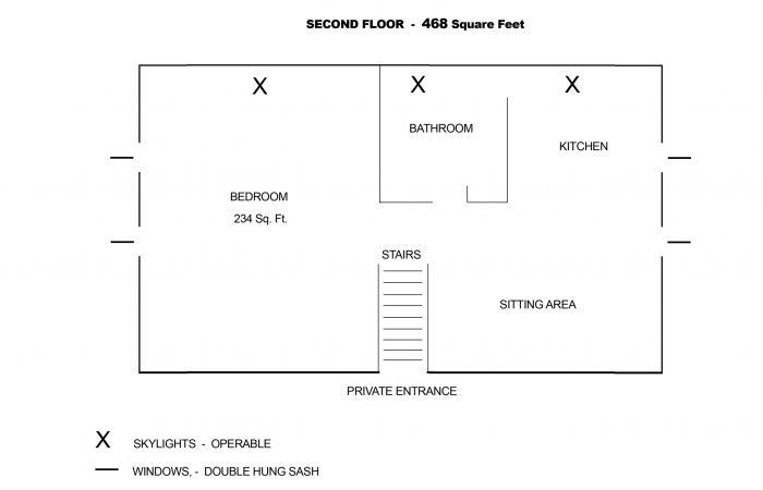 Floor Plan Garret