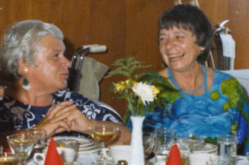 Lizzie Upham & Sally Nerber
