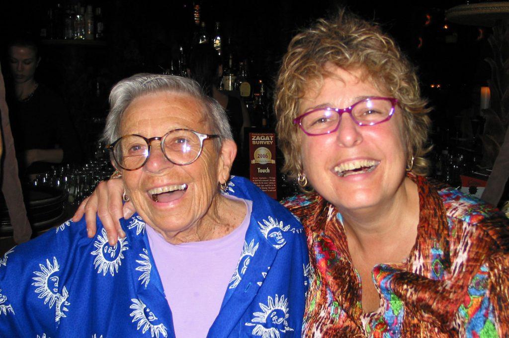 Sally Nerber and Brenda Correia